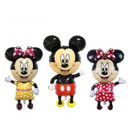 110 cm Mickey Minnie Zabawki Dmuchane Kreskówki Folia Birthday Party Balonu Gigant Airwalker Balony dla Dzieci Zabawki Dla Niemo