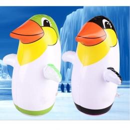 Nadmuchiwane Pingwina Zabawki Delfin Pingwina Suszarka Dzieci Pinguino Nadmuchiwane Zabawki Zwierząt Balon 36 cm Edukacyjne Zaba