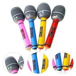 Kolor Losowy Disco Zabawki Dzieci Prezent Party Supplies Etap Prop Nadmuchiwane Mikrofon Mikrofon
