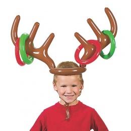 Dzieci Śliczne Deer Head Kształt Okucie Gry Narzędzia Dla Dzieci Zabawki Dmuchane Balony Urodzinowe Dekoracje Na Zewnątrz Gry Za