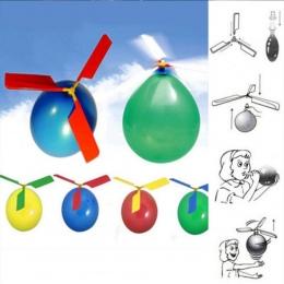 1 pc Balon Balon Helikopter Latający Helikopter Latający Zabawki Śmieszne Zewnątrz Gry Edukacyjne Dla Dzieci Zabawki Dmuchane