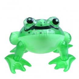 1 sztuk Przyjazne PCV Żaba Zabawki Dmuchane Dzieci Green Frog Shaped Balony Nadmuchiwane Cartoon Zwierząt Zabawki dla chłopca No