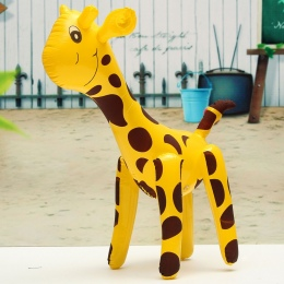 JIMITU Przyjazne PCV Żyrafa Projekt Nadmuchiwane Zabawki Party Balon Dzieci Deer Shaped Balony Nadmuchiwane Cartoon Animals