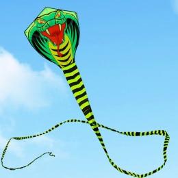 Darmowa wysyłka 15 m węża latawiec linia ripstop nylon fabric odkryty zabawki cerf volant easy open dzieci latawce dla dorosłych