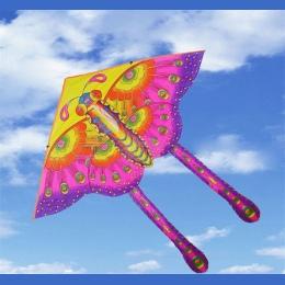 1 SZTUK 50 cm Kolor Motyl Kolor Butterfly Style Składany Latawiec Latawiec Hot Średni Tradycyjne Produkty Rekreacji Na Świeżym P