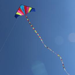 10 Metrów Rainbow Bar Kaskaderów Latawca Ogon dla Delta Latawiec Latawiec latawiec Akcesoria Zabawy Na Świeżym Powietrzu Sport Z