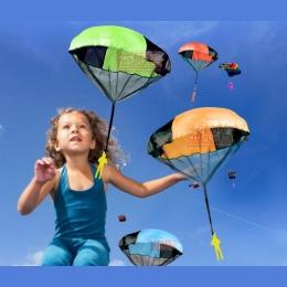 2018 Nowa Sprzedaż Czerwony Niebieski Żółty Kite Surf Kitesurf Nowe Dziecko dzieci Spadochron Rzut I Upuść Zabawki, na zewnątrz