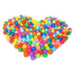100 sztuk Ekologiczny Kolorowe Kulki Plastikowe Kulki Zabawki Miękkie Ocean dla Basen Dla Dzieci Swim Pit Stres Piłka Powietrza