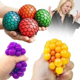 Śmieszne 6.5 cm/5.5 cm Novetly Wycisnąć Piłeczka Antystresowa Antystres Piłka Ręczna Do Ćwiczeń Nadgarstka Szlam Ball Toy Śmiesz