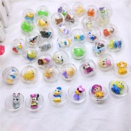 30 sztuka/paczka 28mm średnica przezroczyste plastikowe ball kapsułki zabawki z wewnątrz różnych rysunek zabawki dla automat, ja