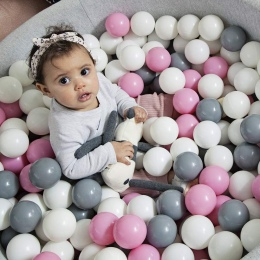 100 sztuk Ekologiczny Plastik Ball Zabawki Miękkie Ocean Basen Kulki Dziecko Basen Pit Zabawki Śmieszne Zewnątrz Kryty Sport Kid