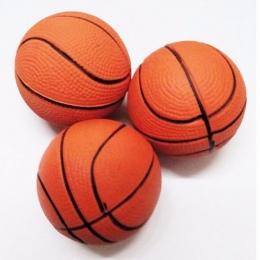 Kid toy squeeze miękka pianka piłka orange rąk wrist ćwiczenia stress relief wyciskanie koszykówka piłka 6.3 cm