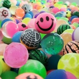 10 sztuk/partia gorąca sprzedaży toy ball mieszane Bouncy bouncy Piłka dziecko Dzieci dzieci z pinball elastyczna piłka gumowa z