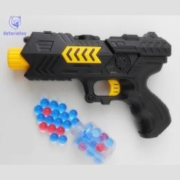 CS Paintball Gun Pistol & Miękka Kula Karabinowa Zabawki Z Tworzywa Sztucznego Gry strzelanie Pistolet Wody Kryształ Air Soft Gu