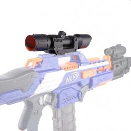 Zmodyfikowana Część Przednia Tube Obserwacji Urządzenia dla Nerf Elite Seria-Czarny