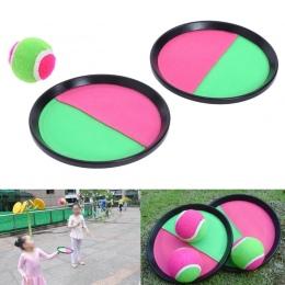 1 Zestaw Dzieci Lepkie Zabawki Piłka Kryty i Zabawy Na Świeżym Powietrzu Sport Interactive Rzut i Złapać Lepkie Docelowa rodzic-
