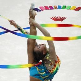 Taniec Wstążka Gym Gimnastyka Rytmiczne Sztuka Balet Streamer Twirling Rod Gry Sportowe Na Świeżym Powietrzu Dzieci Dziecko Doro