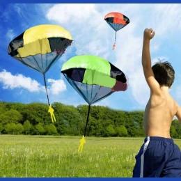 Dzieci prezent Spadochron Rzut i Upuść Zabawki dla Chłopców Zestaw zabawy na świeżym powietrzu zabawki na zewnątrz sportowe zaba
