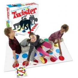 Twister Ciała Gry Rodzina Śmieszne Zewnątrz Sportowe Zabawki Skręcanie ciała Ćwiczenia Koordynacji Z Gadżety interaktywna Gra ed