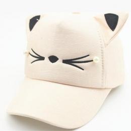 2017 Baby girl śliczne uszu rogu odbicia lato regulowany czapka z daszkiem dziecko kapelusz słońce dziecko kapelusz hip hop