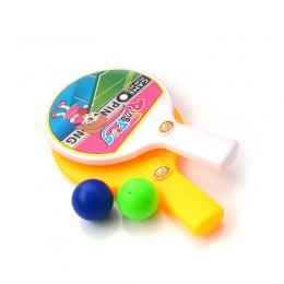 Mini Funny Baby Pingpang Ball Sport Tenis Tabel Z Kulkami Edukacji Zabawki 1 Zestaw Dla Dzieci Dzieci Sport Fan Ulubiona prezent