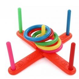 2018 New Arrival Dzieci dzieciaków Plastikowe Gra Pierścień Podrzucać Gry Toy Zestaw Dla Dzieci Puzzle Zabawki Dla Dzieci Prezen