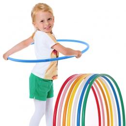 Dongzhur 45 cm Przenośne Wymienny Dzieci Sport Dziecko Hoepel Masaż Hoop Hoop Hula Hoop Dzieci Sportowe Na Zewnątrz Sprzęt Fitne