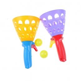 2 Zestawów Interaktywną rodzic-dziecko Rzucania Piłki Ręcznej Losowe Dzieci i Wzrok Ball Toy Zestaw Kryty Boisko Sportowe Gry Dl