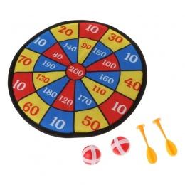Sport Tkaniny Zabawki Dart Board Zestaw Kid Ball Cel Gry Dla Dzieci Bezpieczeństwa Zabawki