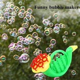 Bańka Mydlana Maszyna dmuchanie Baniek Zabawki dla Dzieci Na Zewnątrz Bańki Mydlane Ślubne Bubble Gun Funny Bulle Ekspres dzień