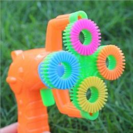 12*9 cm Mydła Elektryczny Pistolet Bańki #5 bateria Automatyczny Bańka Wody dmuchanie maszyna wakacje dla dzieci wody pistolet z