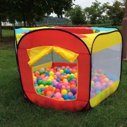 Dom zabaw Wewnątrz i Na Zewnątrz Łatwe Składanie Oceanu Basen z Piłeczkami Pit Gry Namiot Grać Hut Dziewczyny Ogrodowe Playhouse
