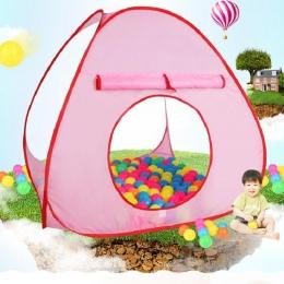 Składany Namiot Namioty Na Zewnątrz Dziecko Oceanu Piłka Zabawka Dla Dzieci do Zabawy Dla Dzieci Dziewczyna Odkryty Dom Namiot D