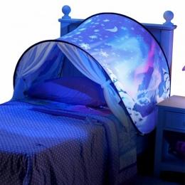 Dzieci Sen Namioty Pop-Up Namiot Łóżko Dla Dzieci Cartoon Snowy Składany Playhouse Pocieszające W Nocy Tipi Spania Na Zewnątrz O