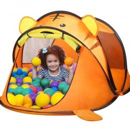 Przenośny Tiger Namiot Dla Dzieci Cartoon Zwierząt Dzieci Dom Zabaw Na Zewnątrz duża Pop Up Zabawki Namioty Wewnątrz Sieci Niemo
