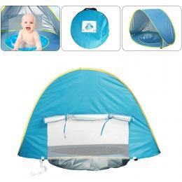 Dziecko Namiot Plażowy ochrony przed Promieniowaniem Uv Sunshelter Dzieci Zabawki Mały Dom Wodoodporna Pop Up Markizy Namiot Prz