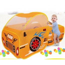 Składany Samochodów Modelu Oceanu Basen z Piłeczkami, Pit Namiot Zabaw Zabawki Dla Dzieci dziecko Na Zewnątrz Ogród Game Play Ho