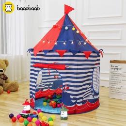 BAAOBAAB ZP00 Księżniczka Książę Grać Namiot Przenośny Składany Tipi Składany Namiot Dzieci Chłopiec Zamek Dom Zabaw Dla Dzieci