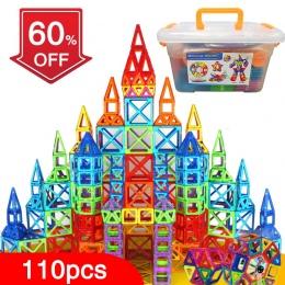 BD 110 sztuk Projektant Budownictwo Zabawki Zestaw Magnes Magnetyczne Klocki Magnetyczne Zabawki Edukacyjne Dla Dzieci Prezent d