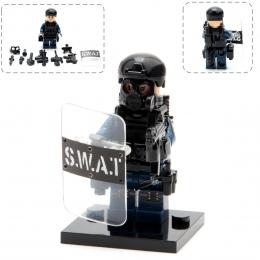 Miasto Policja Wojsko Swat Pistolet Broni Paczka Armii żołnierze Rysunek z Broń klocki Batman Najlepszy Prezent Dla Dzieci Zabaw