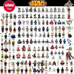 Pojedyncze Sprzedaż legoing Star Wars Blok Budynek Han Solo Anakin Darth Vader Yoda Jar Jar Zabawki Kompatybilne legoINGl starwa