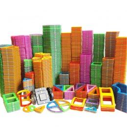 1 sztuk Duży Rozmiar Magnetyczne Bloki DIY budynku Pojedyncze Cegły Części Akcesoria Budowy Magnes Projektant Zabawki Edukacyjne