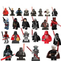 OLeKu Klocki Star Wars Sith Pana Darth Vader Maul Revan Dooku Sidious cegły zabawki dla dzieci starwars figury