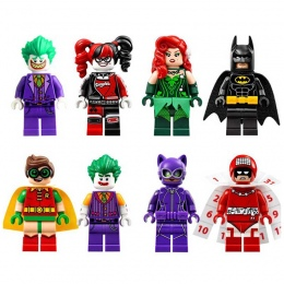 Pojedyncze Super Heroes DIY Bloki X-man Avengers Justice League Model Building Blocks Kompatybilny Z Legoingly Batman prezent zk