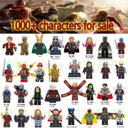 Dla legoing Marvel Avengers Nieskończoność Wars Ant Iron Man spiderman Lekarz Dziwne Loki Model Klocki Klocki Zabawki Figurki