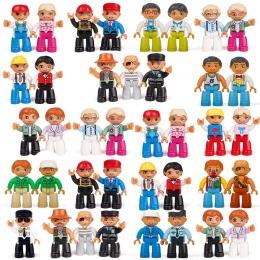 Gorąca Sprzedaż Action Figures Bloki Kompatybilny Z legoing Duplo Figurki Zwierząt Pociąg Klocki Zabawki Edukacyjne Dla Dziecka