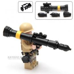 Wojsko Swat Policja Gun Broń Paczka Armii żołnierze cegiełki Cegły Zestaw Model MOC Ramiona Miasto Policja Wojskowy Serii
