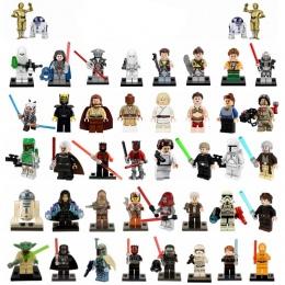 Mailackers Mistrz Yoda Legoing Starwars Figurki Zestaw Luke Skywalker Han Solo Darth Maul Zabawki Dla Dzieci Starwar Klocki Lego