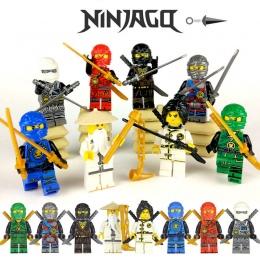 Ninja Kai Jay Zane Cole Lloyd Carmadon Z Tornado Motocykl Kompatybilny Z LegoINGs Ninjagoes figurki Budynku Blok Zabawki 15