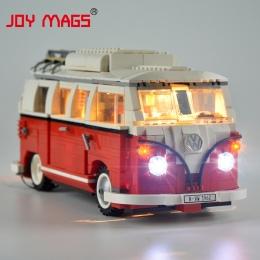 RADOŚĆ MAGS Tylko Led Light Kit Dla Twórca Volkswagen T1 Camper Van Światła Zestaw Kompatybilne Z 10220 I 21001 (nie Obejmują Mo